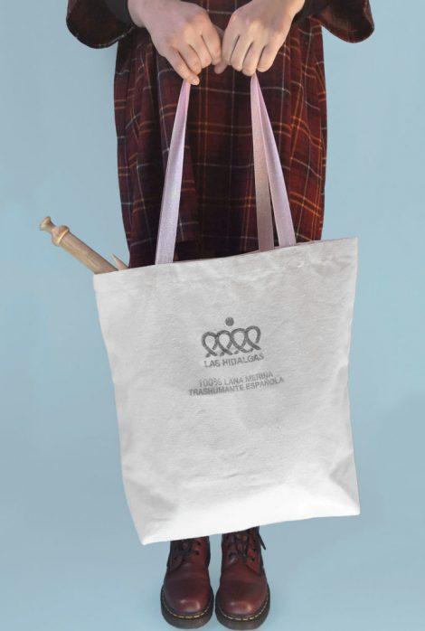 bolsa algodon tote-bag las hidalgas-