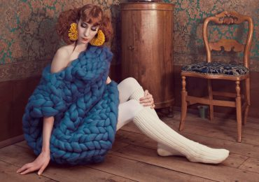 KNITTING AS YOU'VE NEVER SEEN IT BEFORE