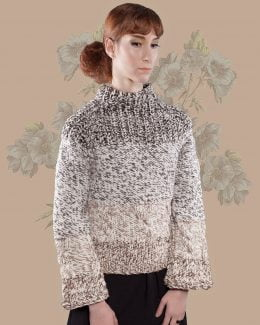 jumper-transhumant merino wool-handmade-chozuelo-las hidalgas