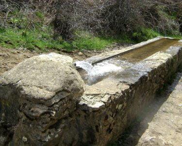 Pastos-abrebadero ruta pastores trashumantes de merinas-Las Hidalgas